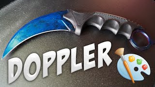 CS:GO Knife Painting: Karambit | Doppler