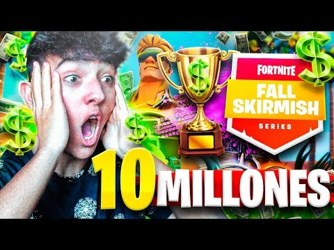 ¡JUGANDO EL TORNEO DE 10M$ de FORTNITE! *FALL SKIRMISH* - Agustin51