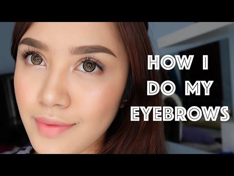 How I Do My Eyebrows   Vira Yunita