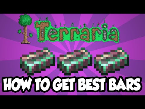 Terraria 1.3 - Luminite Bars - How to Get the BEST Ores / Bars In The Terraria 1.3 Update!