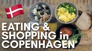 COPENHAGEN VLOG - day 1 : stationery shopping and street food!