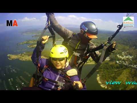 Wonogiri Paragliding Tandem, Ninda Zulfa Sidoharjo Surabaya