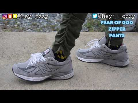 New Balance 990 v4 Gray Review + On Feet Review (@hey_ozzy Instagram)