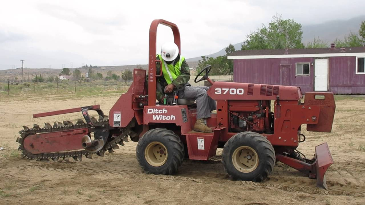 hight resolution of ditch witch trencher start up procedures 1