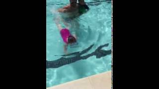 Video Ophelia Posey - learns to swim! download MP3, 3GP, MP4, WEBM, AVI, FLV November 2017