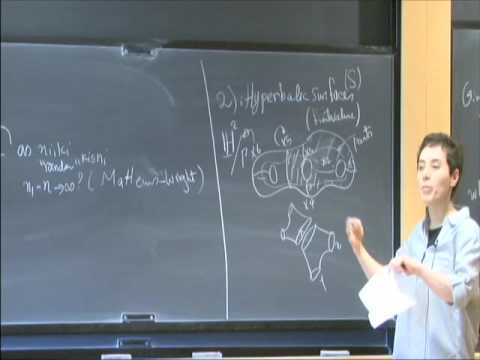 Dynamics on the Moduli Spaces of Curves, I - Maryam Mirzakhani
