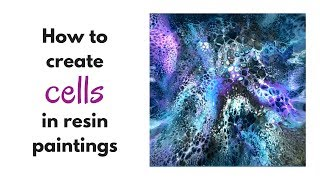 Wie erzeugen Zellen, die im Harz Bilder