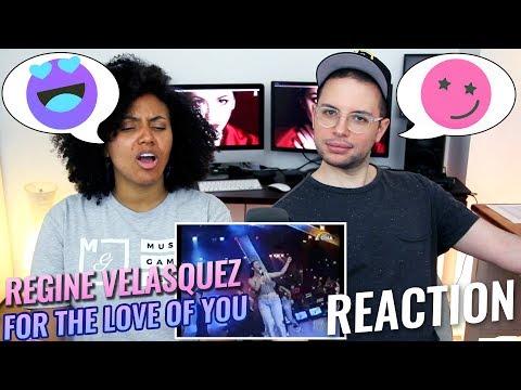 Regine Velasquez - For The Love Of You | SOP | REACTION