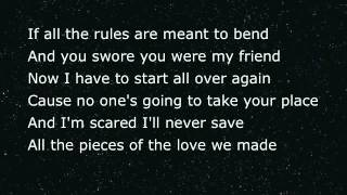 christina perri sad song lyrics