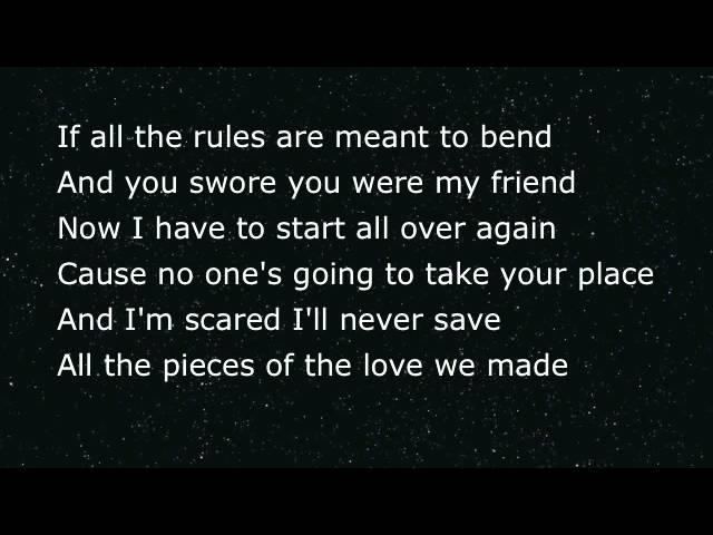 Song lyrics sad 39 Sad
