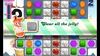 Candy Crush Saga Level 697 walkthrough (no boosters)
