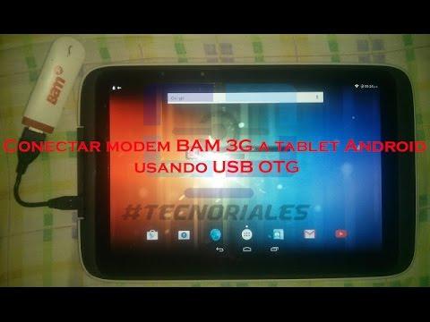 Usar Modem O BAM 3G En Android Con USB OTG.