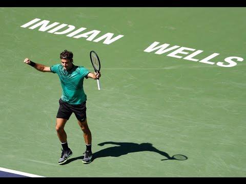 BNP Paribas Open 2017: Day 13 ATP Highlights