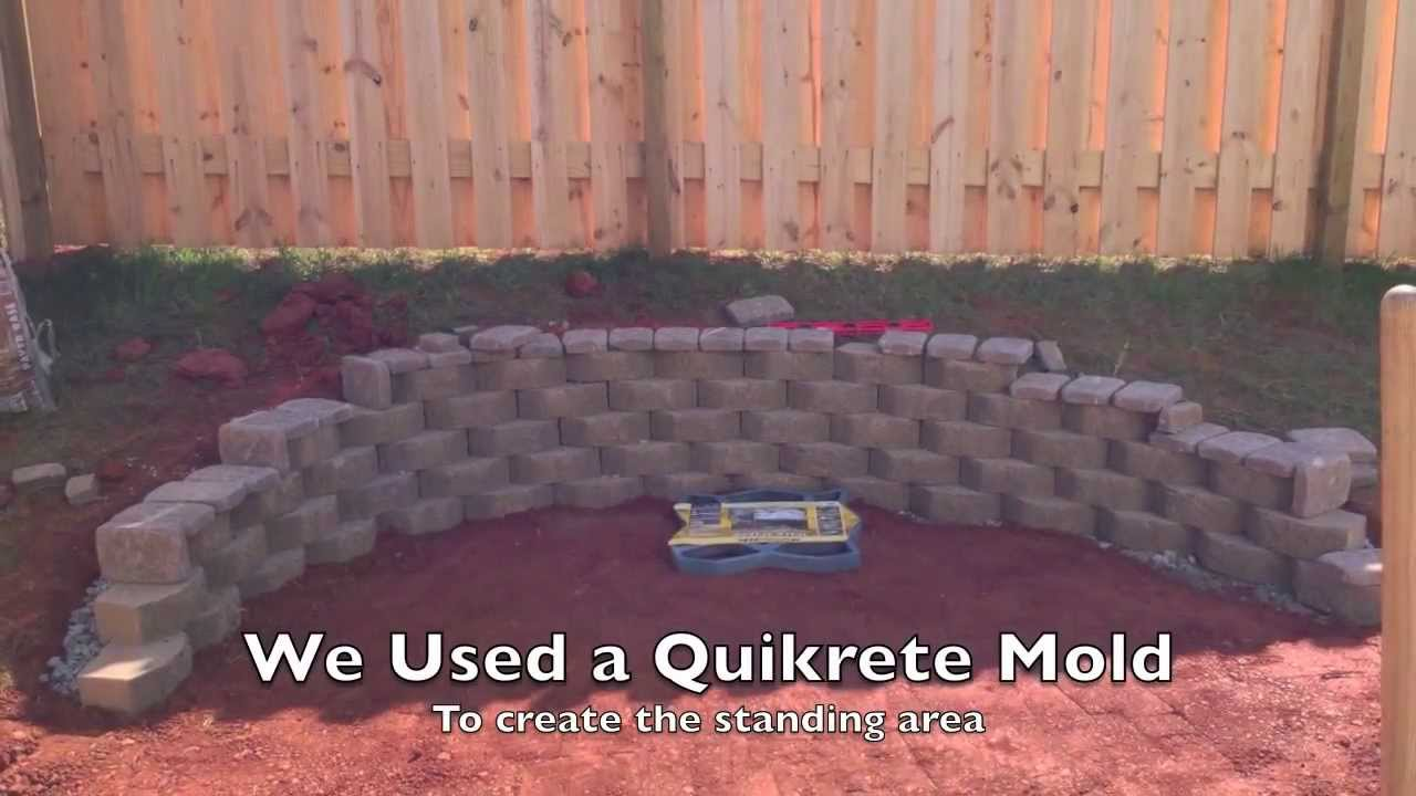 how to make a small backyard fire pit youtube