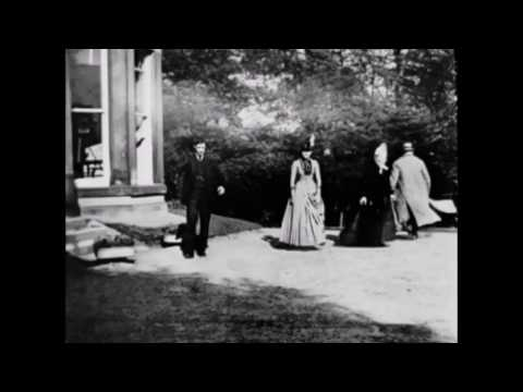 """A Newly Restored """"Roundhay Garden Scene"""" HD (Louis Le Prince, 1888)"""