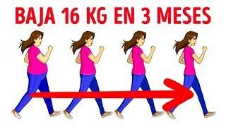 Ayuda a bajar de peso caminar