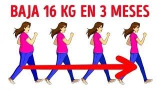 Cuánto necesitas caminar a diario para bajar de peso