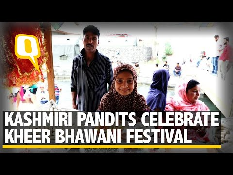 At J&K's Kheer Bhawani Mandir, Muslims Warmly Host Kashmir Pandits