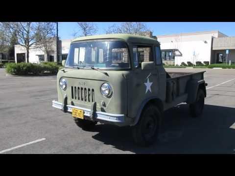 1958 Willys Jeep Fc170 On Govliquidation Com Youtube