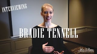BRADIE TENNELL EXCLUSIVE INTERVIEW by John Wilson Blades
