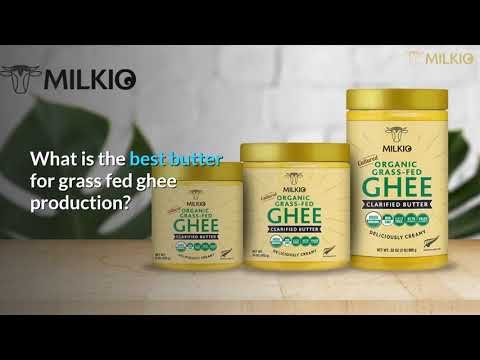The Best butter for ghee: the best raw ingredient