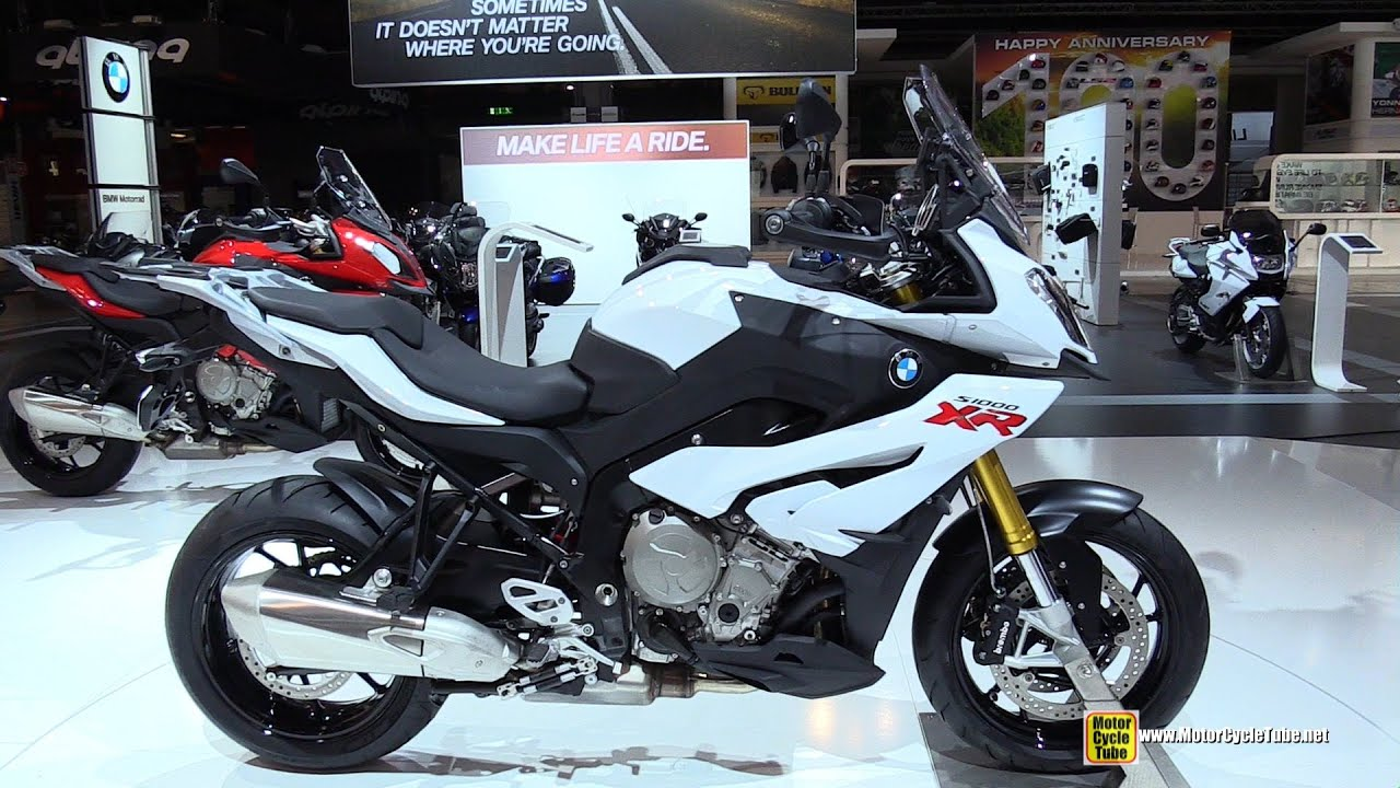 2015 bmw s1000 xr - walkaround - 2014 eicma milan motorcycle