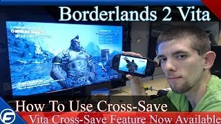 Borderlands 2 Vita How To Use Cross-Save