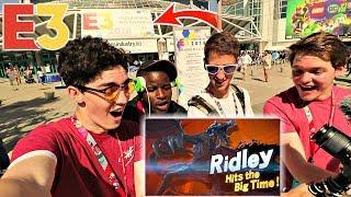 PUBLIC FREAKOUT OUTSIDE OF E3 2018 - Nintendo Direct REACTION