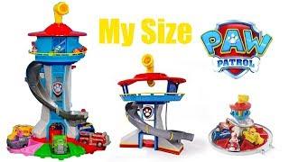 Щенячий Патруль - Большая База спасателей - новые серии. BIGGEST Paw Patrol My size Lookout Tower