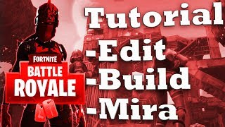 TUTORIAL - ALLENARSI su FORTNITE! (Edit, Build, Mira)