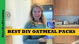 Best Homemade Oatmeal Packets