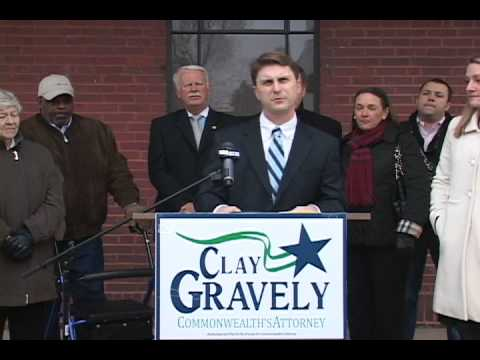 Clay Gravely announces run for Martinsville Commonwealth Attorney