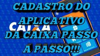 Cadastro do usuário da caixa PASSO A PASSO!!! 2018
