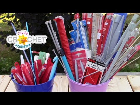 How To Know What Size Your Crochet Hooks And Knitting Needles Are