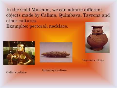 Description of Gold Museum in Bogotá ARGESOL16