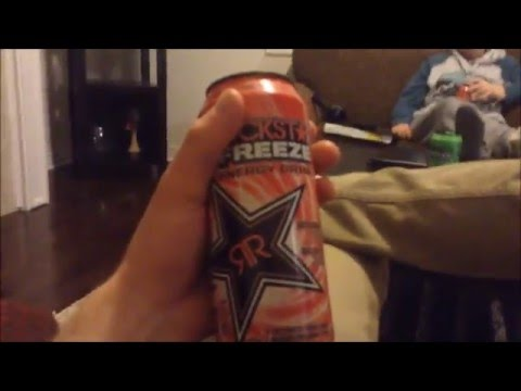 Rockstar Watermelon Freeze - Energy Drink Review #125