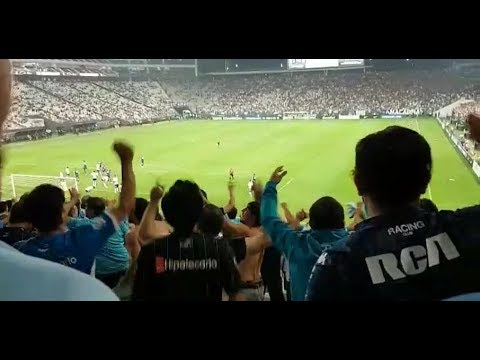 Corinthians x Racing no meio da torcida argentina