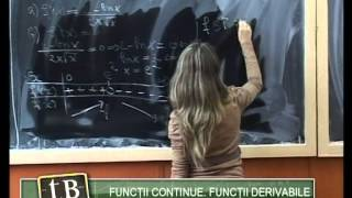 ( telebaconline.blogspot.com ) Functii continue. Functii derivabile by Justin Paralescu