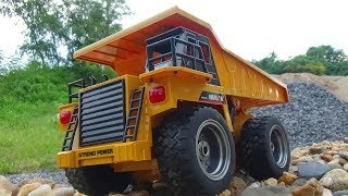 Mr H2 - Unboxing Rc Dump Truck Huina 1540 4 WD - 2,4Ghz