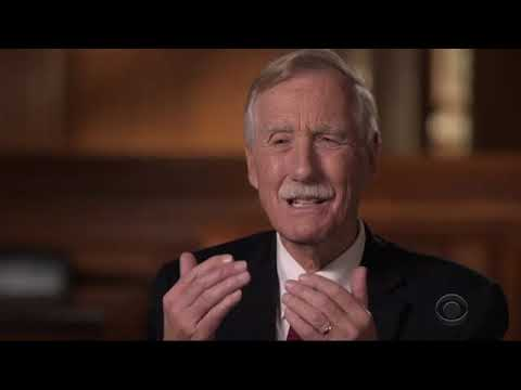 Angus King: An independent in the Senate - 60 Minutes