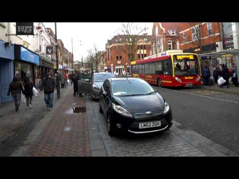 7 minute walk through Watford High Street