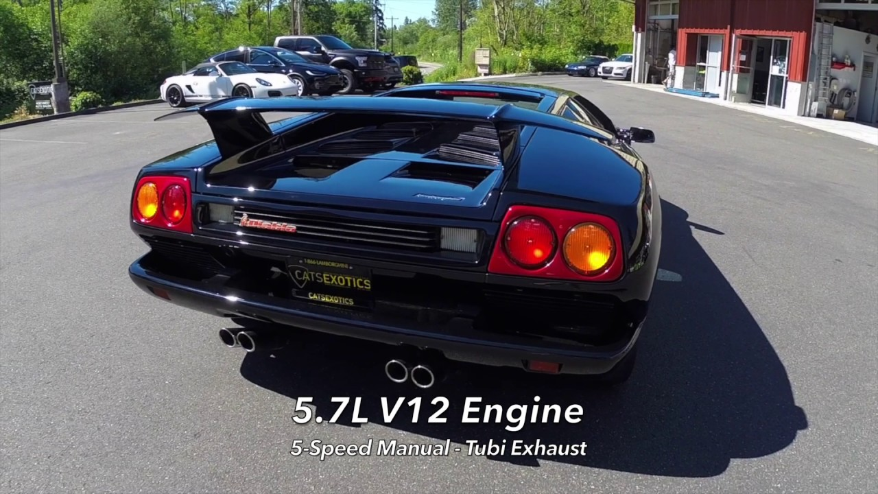 1991 lamborghini diablo - youtube