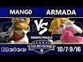 TBH6 SSBM - C9 | Mango (Fox) Vs. [A]rmada (Peach) - Smash Melee Grand Finals