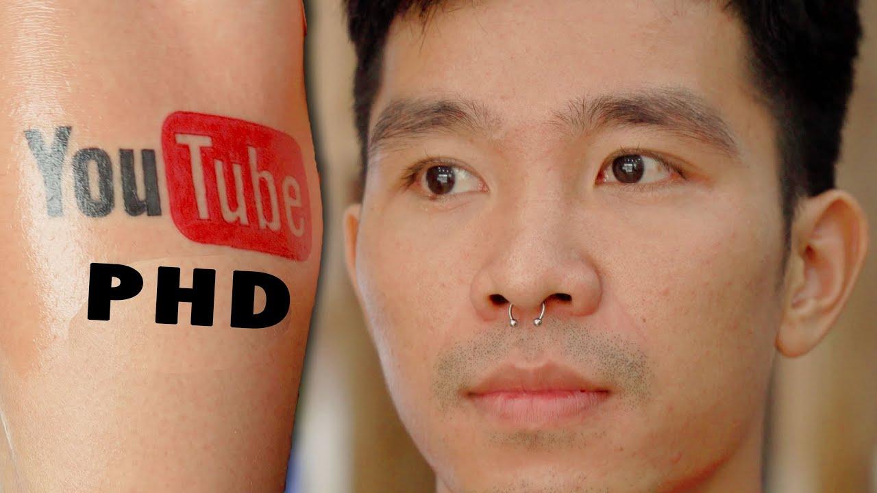 Trải Nghiệm Xỏ Khuyên Mũi vs Xăm Mình   Nose Piercing and Tattoo   PHD Troll