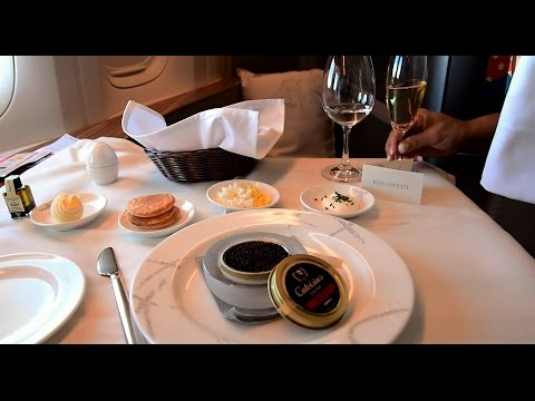 Cathay Pacific First Class 777-300ER New York JFK to Hong Ko