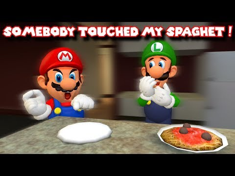 SOMEBODY TOUCHED MARIO'S SPAGHET !
