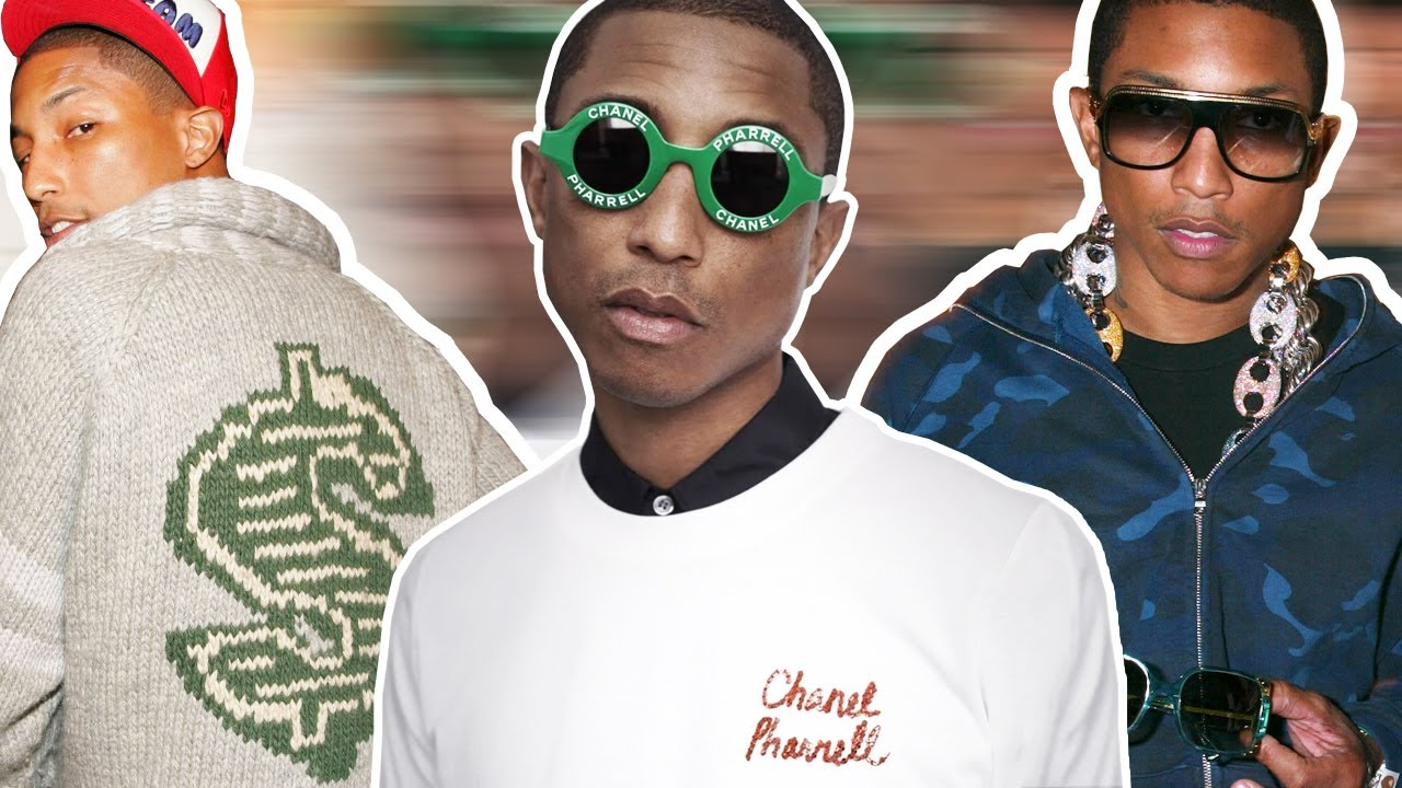 Download Everything Pharrell Has Done in Fashion (From Billionaire Boys Club to Chanel!)