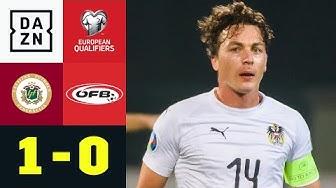 Zaubertor von Oss sorgt für Österreichs Blamage: Lettland - Österreich 1:0 | EM-Quali | DAZN