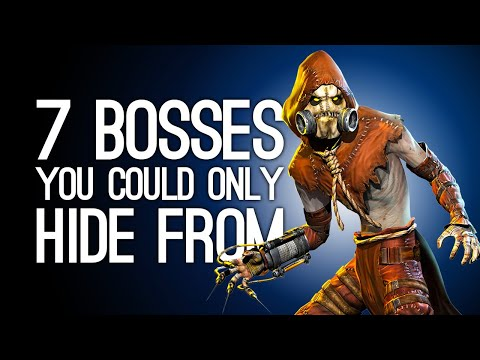 7 Bosses You Could Only Hide From