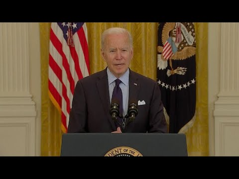 Biden on April Jobs Report: 'We've Got Work to Do'